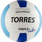 Мяч волейбольный TORRES Simple Color размер 5